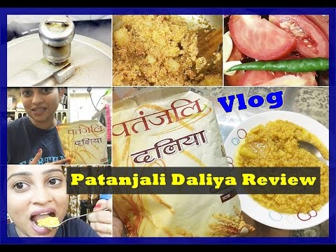 , title : 'Healthy Daliya Khichadi Vlog | Patanjali Daliya Review | Recipe, Price, Benefits'