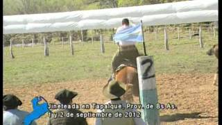 preview picture of video 'Jineteadas en Tapalqué, Provincia de Bs. As. 1/9/12 (Parte 1)'