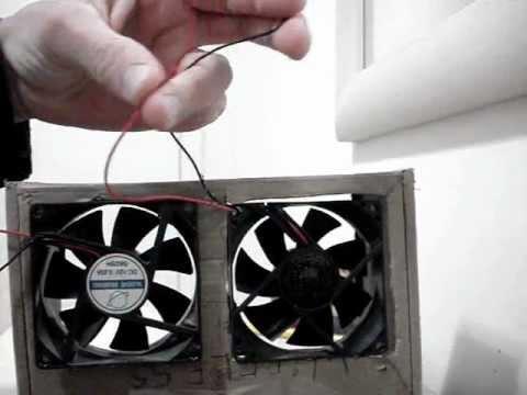 Experiência 6: Como fazer um gerador eólico caseiro.