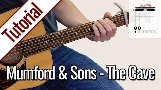 Mumford & Sons - The Cave | Gitarren Tutorial Deutsch