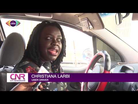 Ride-hailing services: Lady Uber driver breaks stereotype - Citi Newsroom