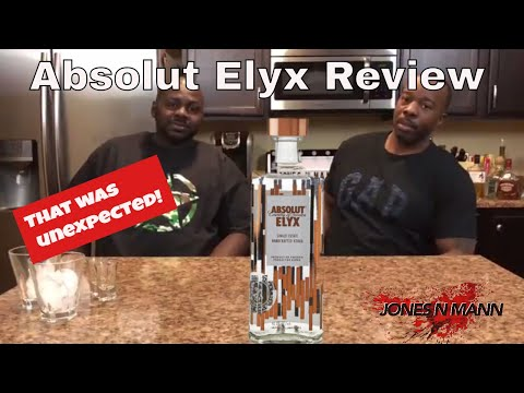 Absolut Elyx Vodka Review