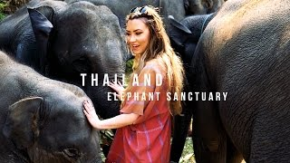 Thailand - Elephant Sanctuary