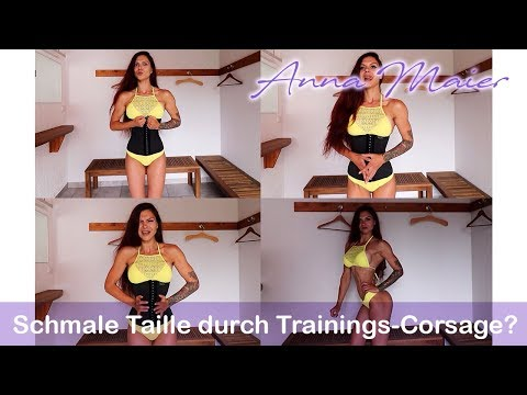 Schmale Taille durch Trainingscorsage??