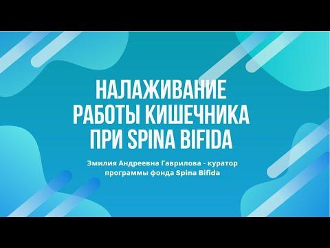 Налаживание работы кишечника при Spina bifida