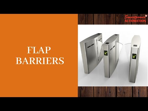 Stainless Steel Flap Barrier Gate