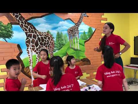 Lớp tiếng Anh dành cho học sinh tiểu học tại GGE