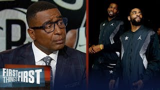KD & Kyrie don't need a title to validate their Nets move — Cris Carter | NBA | FIRST THINGS FIRST