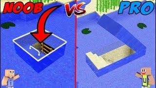 MINECRAFT: NOOB VS PRO - Rumah Bawah Air