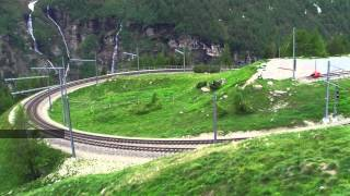 preview picture of video 'RhB Bernina'