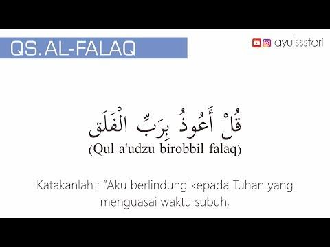Video Bacaan Surat Al Falaq Dan Artinya Beserta Keterangannya