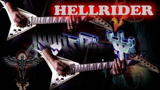 Judas Priest - Hellrider FULL Guitar Cover