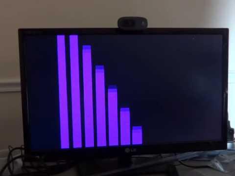 Amstrad CPC 6128 clone, demo