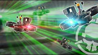 Drone Laser Tag!? Shoot 'em down!