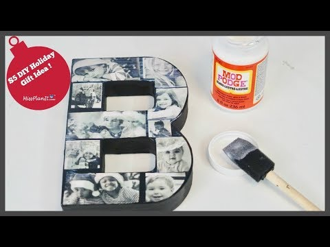 $5 Dollar DIY Holiday Gift Idea | DIY Christmas Gifts | DIY Tutorial