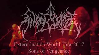 Angelcorpse ,  Sons of Vengeance Live 2017 , Extermination World Tour