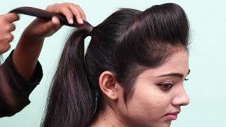 Easy & beautiful party Hairstyles in 1 Minute || hair style girl | hairstyles || new hairstyles 2018