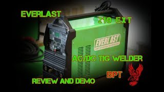 Everlast 210 EXT Review -----One Badass Little Machine!-----