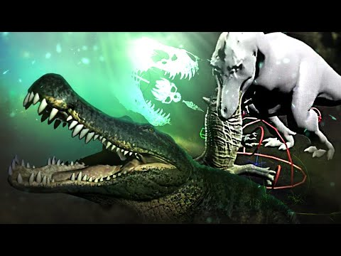 CRUSH A DINOSAURS SKULL! - The Isle - Fatality Animations, Deinosuchus Updates & More - Gameplay