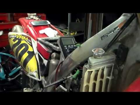 2011 honda CRF450 throttle position sensor adjustment