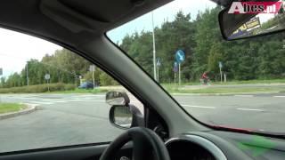 preview picture of video 'Prawko Częstochowa - wyjazd z WORD-u.'