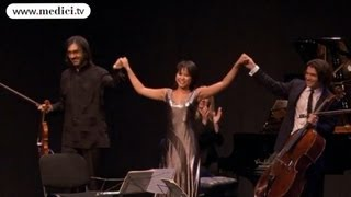 Mendelssohn - Trio for piano, violin and cello No. 2 - Yuja Wang, Leonidas Kavakos, Gautier Capuçon
