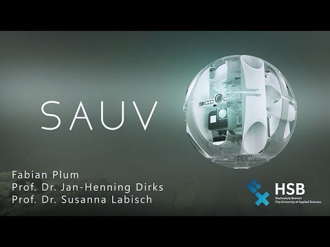 SAUV - Soft autonomous Underwater Vehicle