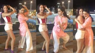 Shraddha Kapoor's FUNNY Dance With Dilbar Girl Norah Fatehi On Sets of ABCD 3