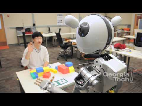 How Can Robots Get Our Attention? Video