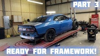 Rebuilding a Wrecked 2016 Dodge Hellcat Part 3