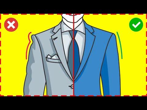 ПИДЖАК. Как выбрать мужской пиджак. 6 правил, как выбрать пиджак по размеру