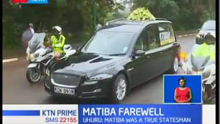 Matiba Farewell:Eulogizing the 2nd liberation hero,Kenneth Matiba
