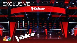 Building the Battles, a Time-lapse - The Voice 2018 (Digital Exclusive)