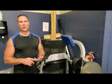 Plate Loaded Neck Flexion Machine