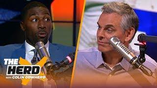 Greg Jennings on AB's helmet dilemma, talks Aaron Rodgers rift with Matt LaFleur | NFL | THE HERD