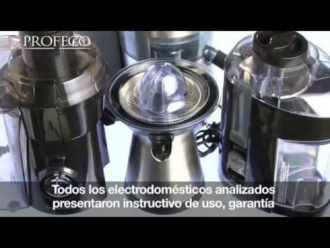 Exprimidores y extractores de jugo [