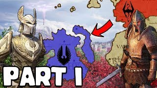 Invasion Of Summerset Isles | Cyrodiil Empire Part 1 - Elder Scrolls Total War