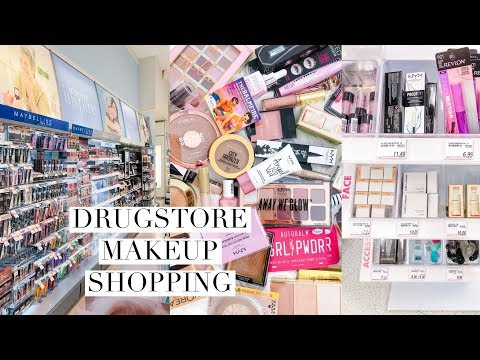 COME DRUGSTORE MAKEUP SHOPPING WITH ME! HUGE HAUL!💕
