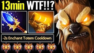 [Earthshaker] First Item 13Min Aghanim Scepter - Ez Game of my Life Dota 2 by RAMZES666