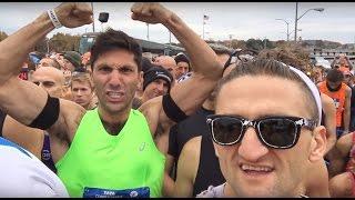 Все секреты марафона в Нью-Йорке. Casey Neistat на русском