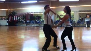 Salsa in Fort Myers with Nery and Giana