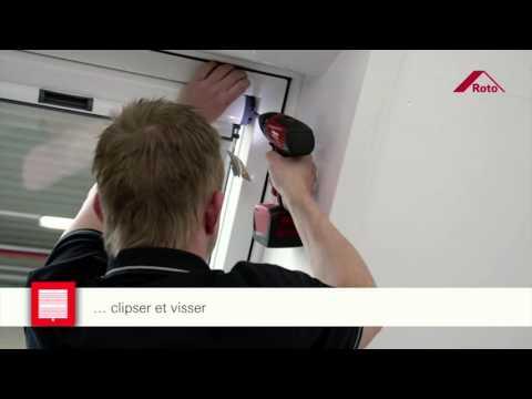 Comment installer votre store occultant pour fenêtre de toit ROTO