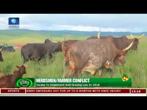 Taraba Govt Insists On Implementing Anti-Grazing Law |News Across Nigeria|