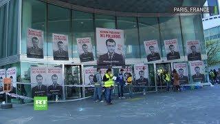 Paris : des militants pour le climat bloquent des bâtiments à La Défense