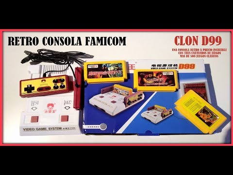 D99 famicom clon review