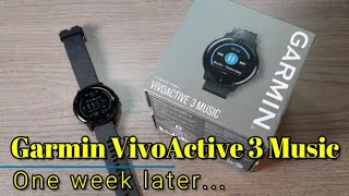 Garmin Vivoactive 3 Music: The nearly perfect GPS smartwatch for me...