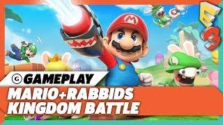 20 Minutes Of Mario + Rabbids Kingdom Battle Hub World Gameplay | E3 2017 Nintendo Spotlight