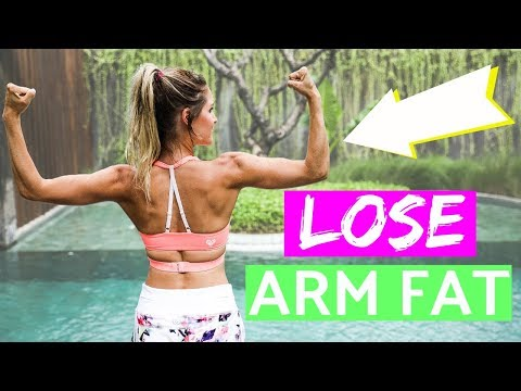 how to lose fat arms fast