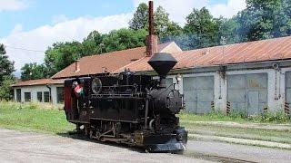 Schwarzgranbahn   Čiernohronská železnica   Čierny Balog