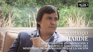 Santiago Hardie - Secretario de Coordinación y Desarrollo Territorial